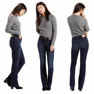 Levi's 315 Shaping Bootcut Mid Rise Stretch Jeans